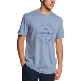 Quiksilver Secret Ingredient Camiseta manga corta Hombre, stone wash